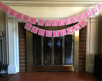 Happy Birthday - Tea Party Banner