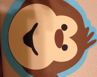 Monkey Baby Shower Invitations