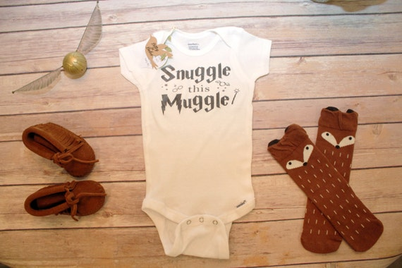 Snuggle this Muggle Harry Potter Onesie® Harry by BittyandBoho