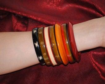 Varnished Bracelet Set