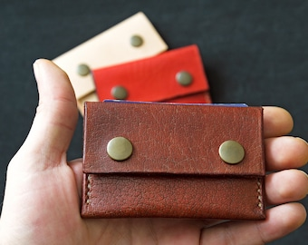 Buffalo leather purse