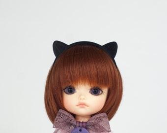 "Headband ""Cat"" for Lati Yellow, Lati White, Momoko, Pullip, Blythe, Dal, Yeolume, Byul, MSD, Kikipop, YoSD"