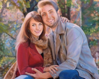 Custom Oil Painting. Custom Portraits. Photo to Painting Commissions.