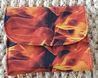 Purse 'Fire' (VEGAN)