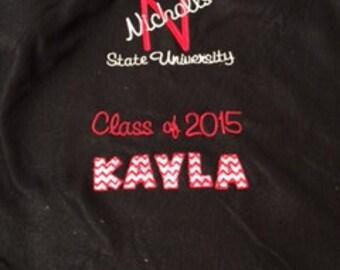 Graduation Throw Blankets