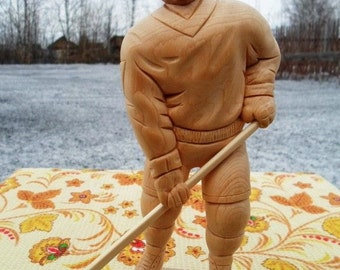 "Figurine ""The Hockey Player"""