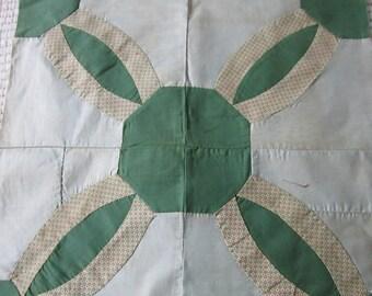 Endless Chain Quilt Block circa 1930