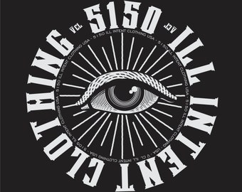 5150 ill intent clothing co