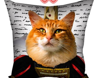 Cushion with cat, Cushion with image of a cat, gifts for cat lovers, cushion with image, cushion with photos, cushion with print, cushion