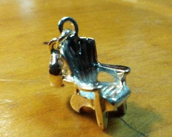 Sterling Silver Muskoka Chair Charm