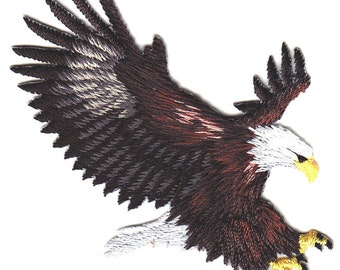 embroidered iron on applique/patch-EAGLE