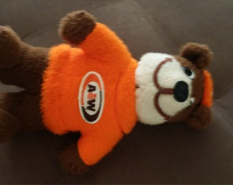 1970's A&W bear plush toy