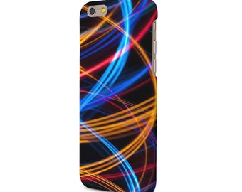 Neon Swirls iPhone case all iPhone models 4/4S/5/5S/5C/6/6S/6 PLUS