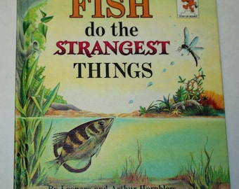 Vintage Step-Up Reader: Fish Do the Strangest Things -  Easy Chapter Science - Easy Science - Primary Biology