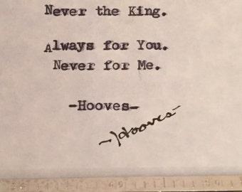 Original Hooves Poetry