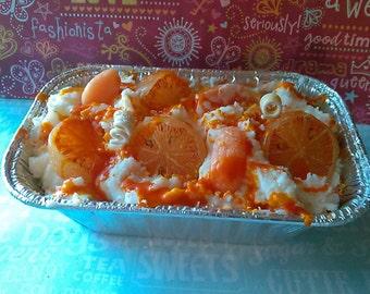 Orange Sherbet Bakery Candle