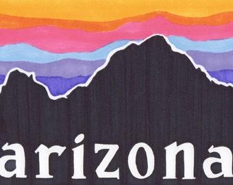 Arizona Vinyl Sticker