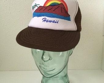 Vintage Retro Hawaii Trucker Hat