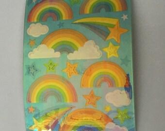 Vintage Rainbow Pearl Maxi Sheet