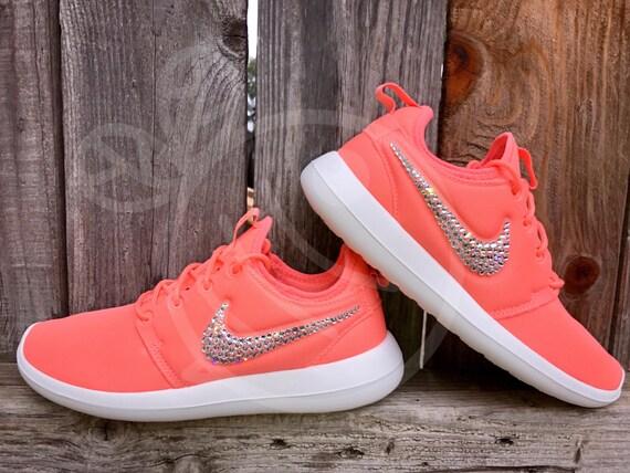 60dfb7334a4 30%OFF Blinged Swarovski Nike Roshe Two Shoes by THEBASICBEESHOP on Etsy