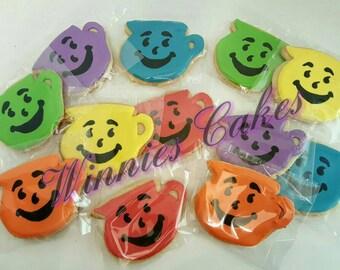 12 Kool-Aid Themed Cookies