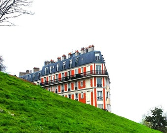 Montmartre/Walk/Art/Photography/Paris/Dream/Colors/Red/Green/White/View/Decor/France