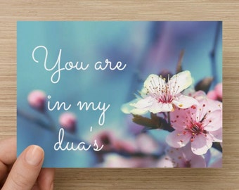 Card You Are In My Duas incl. envelope
