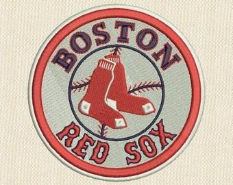 Boston Red Sox Embroidery design MLB Baseball