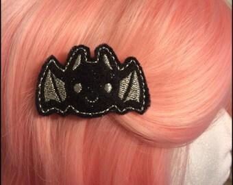 Cute Bat Felt Hair Clip