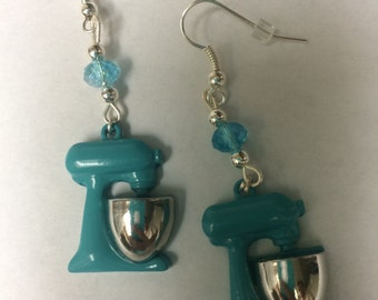 "Stand Mixer ""KitchenAid"" baker earrings"