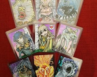 Dark Crystal Sketch Cards - Various Characters