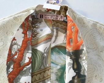 "1S&1M Paisley with Cotton Lining ""Seahorse"" Bolero Jacket"