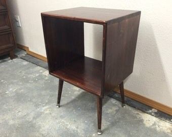 Mid Century Modern Record Cabinet