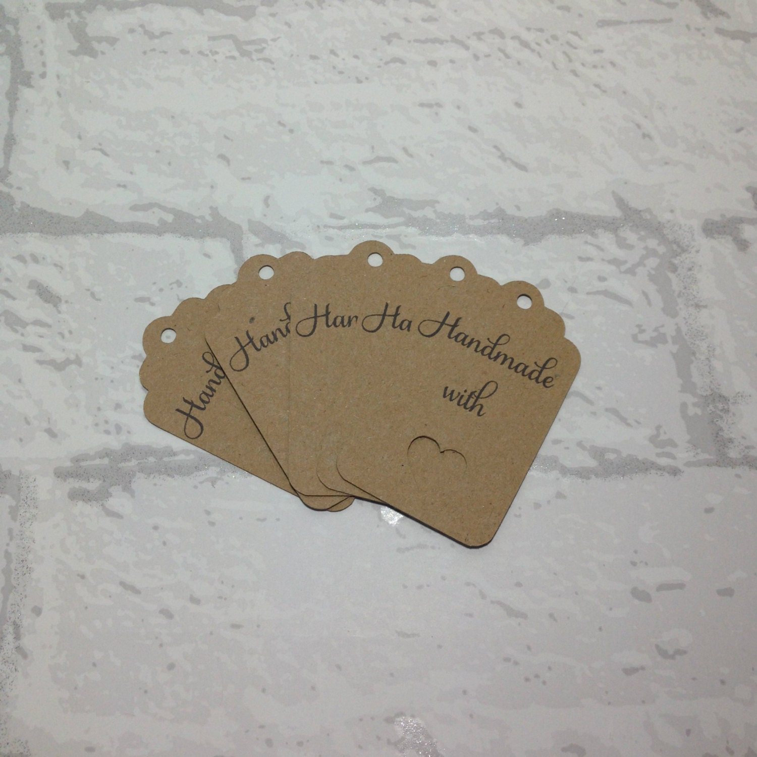 thank you tags personalised business tags handmade tags custom