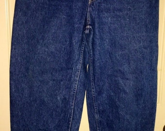 Vtg 1980s High Waisted Tapered Ankle 5 Pocket Forenza Jeans Sz 12