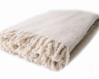 100% Merino Wool blanket 150/200 cm