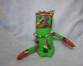 A36 Island Native Art Doll