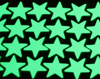100 stickers glow in the dark stars
