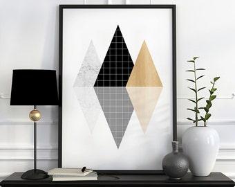 Wall art prints, best selling items, affiche scandinave, top sellers, black and white art, minimalist art, geometric print, wall art decor