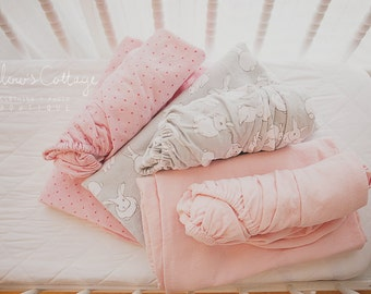 Bassinet fitted sheets - Custom made - Standard and Boori sizes available - You supply your desired fabric, and I do the rest!