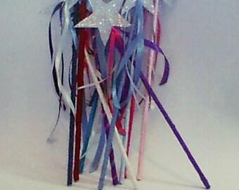 Glitter Wand, Princess wand, Starry wand, Birthday wand, Girl party Wand, Star Glitter Wand, Birthday Party, Princess Wand