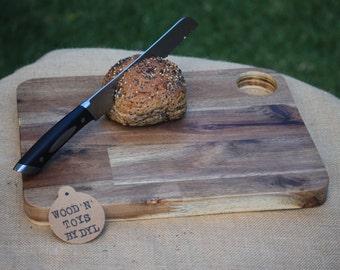 Handmade Wooden Breadboard