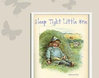 Nursery Wall Art Printable Vintage Digital Download