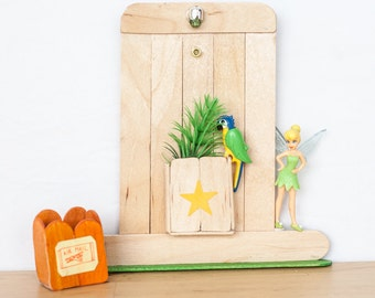 Door with drawer unit star & lamp