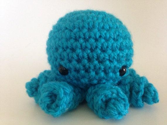 iSquishy Amigurumi Plush Octopus | Plush Octopus Toy | Miniature Adorable  Amigurumi Octopi