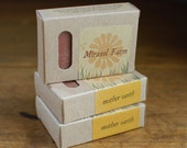 Mother Earth - organic and vegan soap, sandalwood and patchouli essential oils