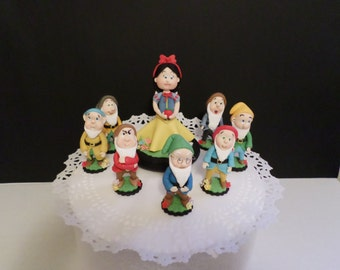 Snow white  inspired and 7 dwarf