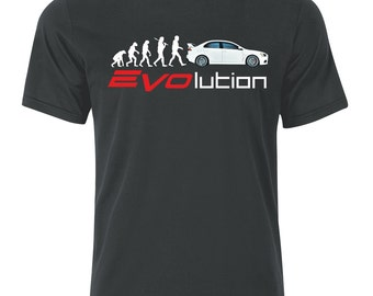 Mitsubishi EVO X Evolution  T Shirt  s/m/l/xl/xxl