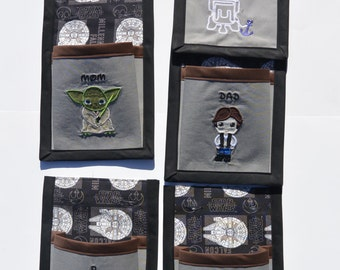 Interchangeable Pockets Star Wars Edition Fish Extender, Fully Customizable