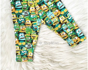 Monsters baby/toddler leggings